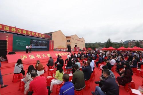 泸溪县线上线下同频消费扶贫 助销扶贫产物1.97亿元