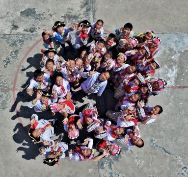 马云捐赠一亿元 助力云南少数民族村庄教育