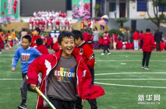 #(教育)(1)贵州黔西:课外活动丰富校园文化