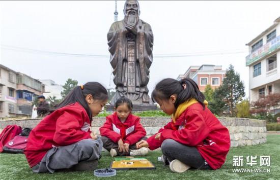 贵州黔西:课外活动丰富校园文化